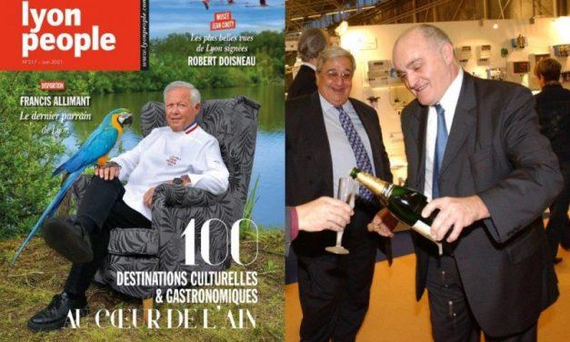 Magazine Lyon People de juin. La grande évasion dans l'Ain