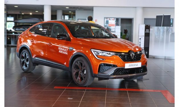 Lyon. Essai Renault Arkana, hybride par nature !