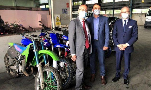 Rodéos à Lyon. Grégory Doucet recense les motos confisquées