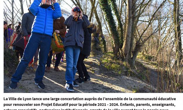 Série # Lyon écolo. La communication municipale lyonnaise sur l'éducation passée au scanner
