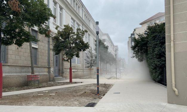 Lyon 7e. Les riverains de la rue Saint Michel mordent la poussière