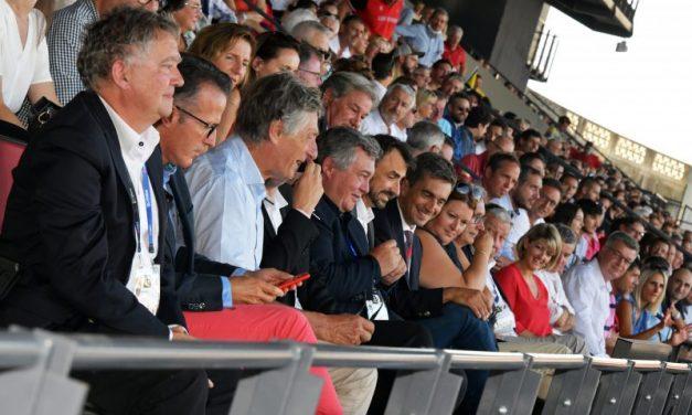 Les tribunes VIP de LOU Rugby – ASM Clermont