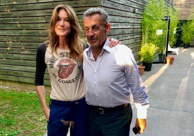 Près de Lyon. L'effet papillon avec Carla Bruni et Nicolas Sarkozy au Parc des Oiseaux