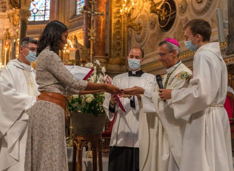 Lyon. Notre Dame de l'ASVEL au Vœu des échevins