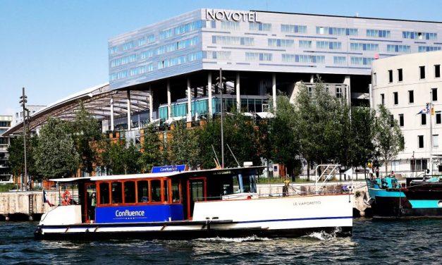 Novotel Lyon Confluence. Le rendez-vous où accoster
