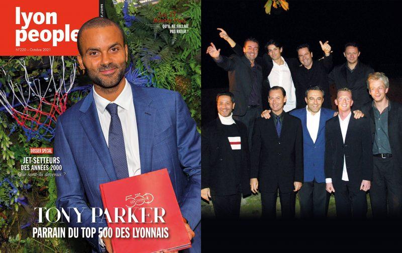 Tony Parker et les jet-setteurs boomers en couverture du nouveau Lyon People